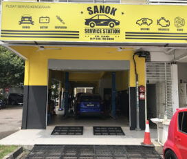 Sanok Service Station Larkin Idaman