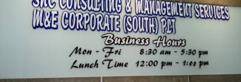 M&E Corporate (South) PLT – (Johor Office)