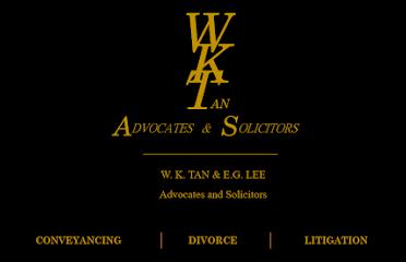 W. K. TAN & E. G. LEE