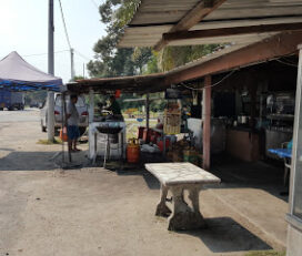 Warong Goreng Pisang Tmn Rambah, Pontian, Johore.