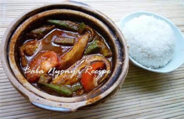 笨珍小娘惹菜馆 Pontian Baba Nonya Recipe